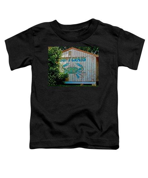 Buckroe Crab Shack Toddler T-Shirt