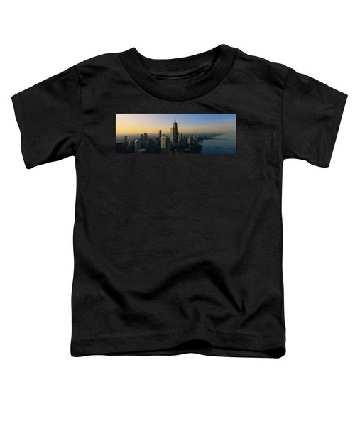 Buildings At The Waterfront, Chicago Toddler T-Shirt