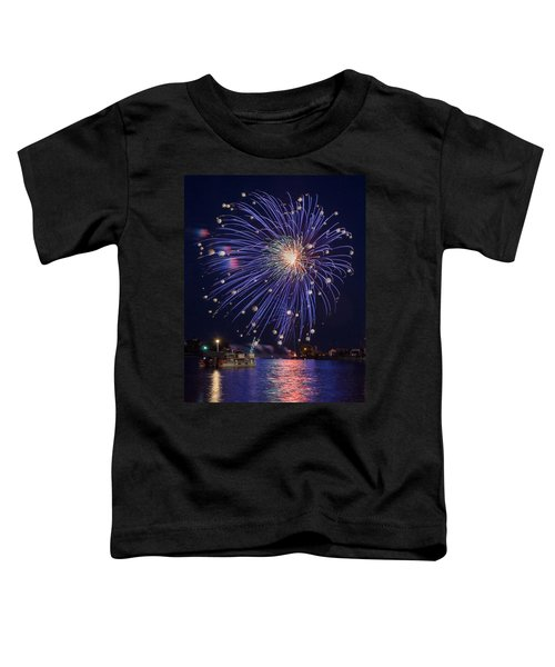 Burst Of Blue Toddler T-Shirt by Bill Pevlor