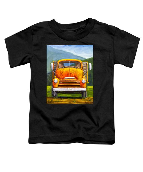 Cabover Truck Toddler T-Shirt
