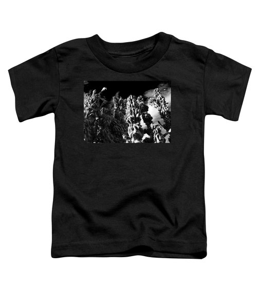 Cactus 1 Bw Toddler T-Shirt