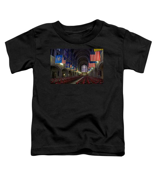 Cadet Chapel At West Point Toddler T-Shirt