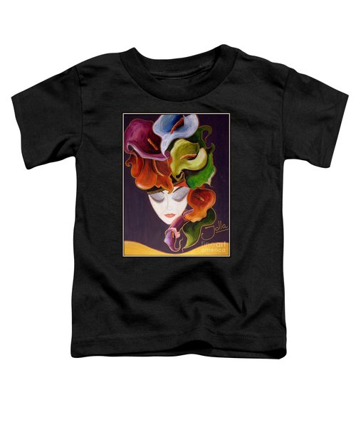 Calla Lily Dame.. Toddler T-Shirt