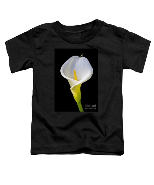 Calla Lily Toddler T-Shirt