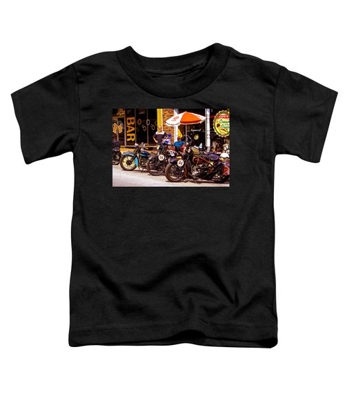Cannonball Motorcycle Colors Toddler T-Shirt