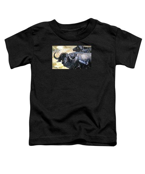 Da206 Cape Buffalo By Daniel Adams Toddler T-Shirt