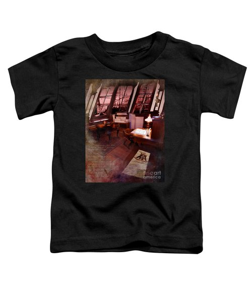 Captain's Cabin On The Dicey Toddler T-Shirt