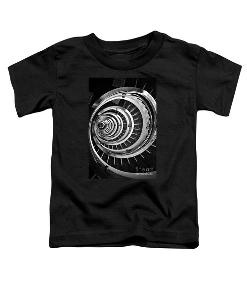 Time Tunnel Spiral Staircase In Sao Paulo Brazil Toddler T-Shirt