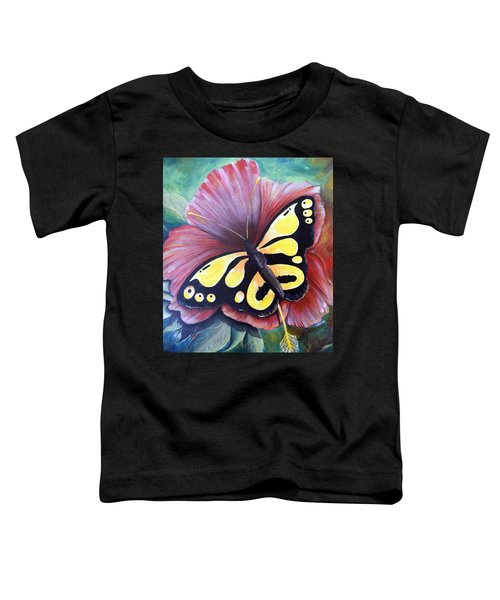 Carnival Butterfly Toddler T-Shirt