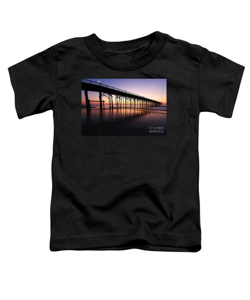 North Carolina Beach Pier - Sunrise Toddler T-Shirt