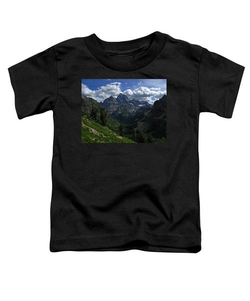 Cascade Canyon North Fork Toddler T-Shirt