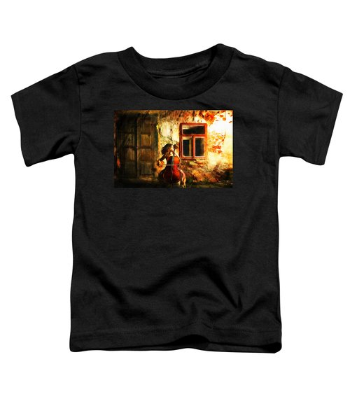 Cellist By Night Toddler T-Shirt
