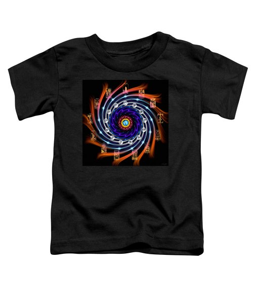 Celtic Tarot Moon Cycle Zodiac Toddler T-Shirt