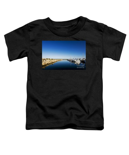 Challenger Harbour Of Fremantle Toddler T-Shirt