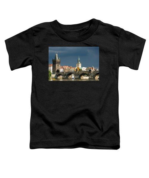 Charles Bridge Prague Toddler T-Shirt