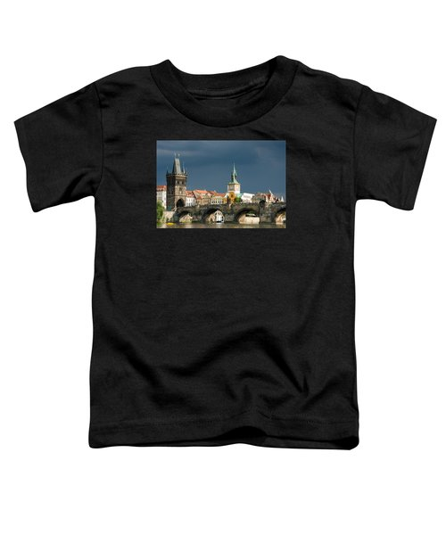 Charles Bridge Prague Toddler T-Shirt