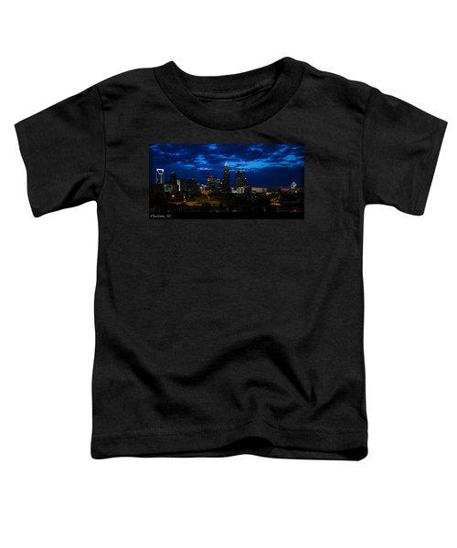 Charlotte North Carolina Panoramic Image Toddler T-Shirt