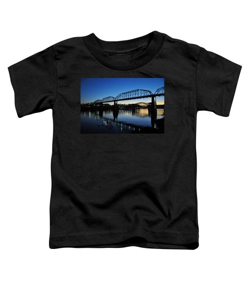 Tennessee River Bridges Chattanooga Toddler T-Shirt