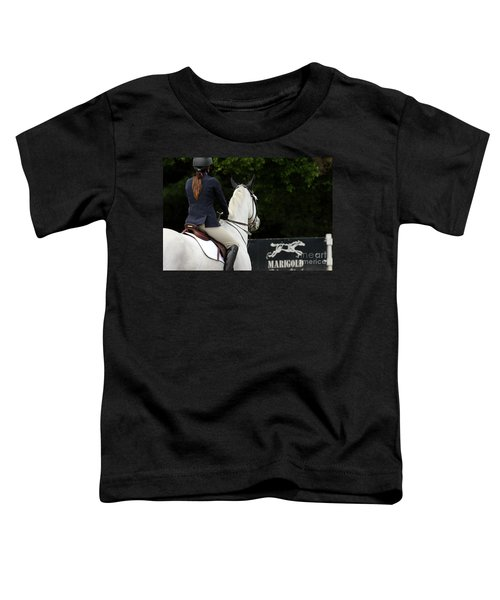 Checking Out The Sign Toddler T-Shirt