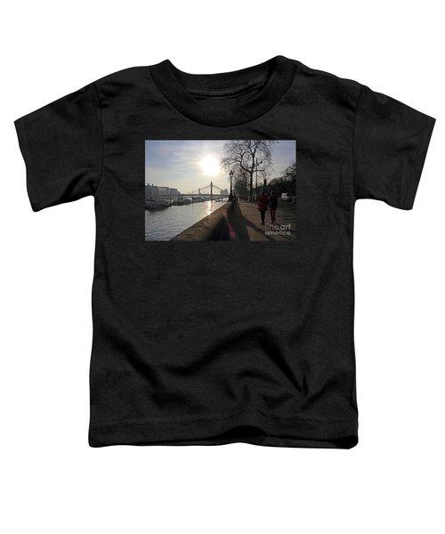 Chelsea Embankment London Uk Toddler T-Shirt