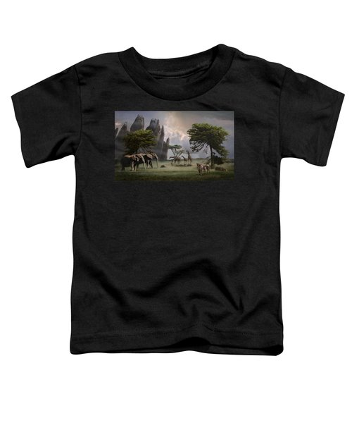 Cherish Our Earth's Creatures Toddler T-Shirt