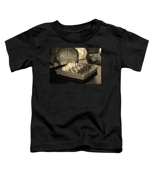 Chess Game Toddler T-Shirt