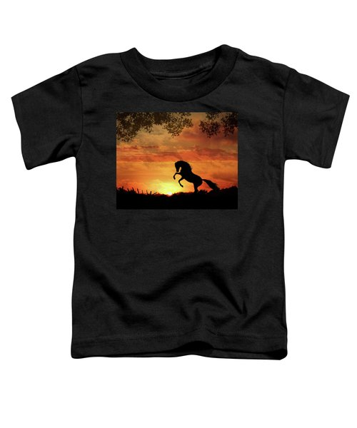 Chestnut Sunset Toddler T-Shirt