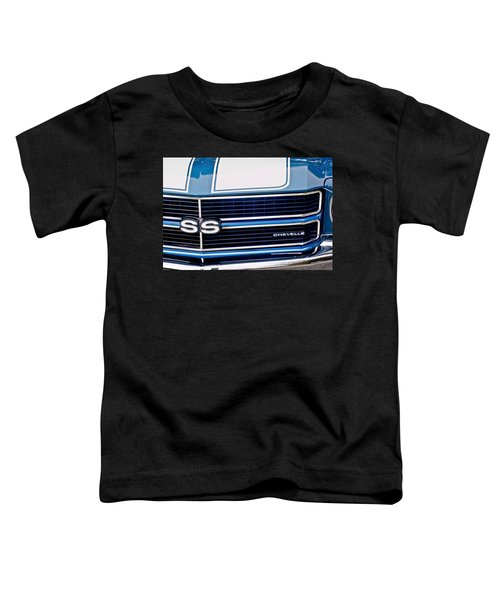 Chevrolet Chevelle Ss Grille Emblem 2 Toddler T-Shirt
