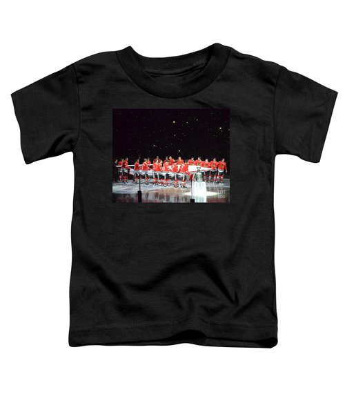 Chicago Blackhawks And The Banner Toddler T-Shirt
