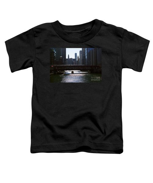 Chicago Morning Commute Toddler T-Shirt