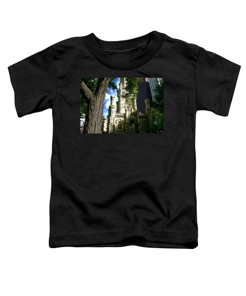 Chicago Water Tower Castle Toddler T-Shirt