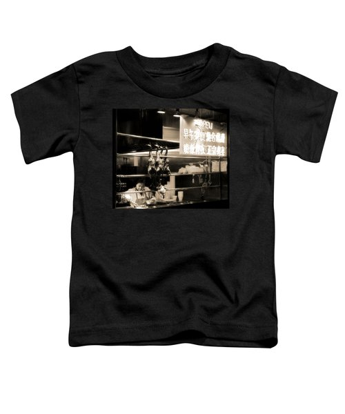Chinatown Restaurant New York City Toddler T-Shirt