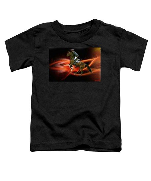 Christian Heineking On Horse Nkr Selena Toddler T-Shirt