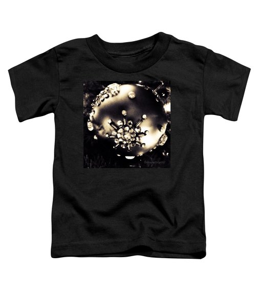 Christmas Ornament In Black And White Toddler T-Shirt