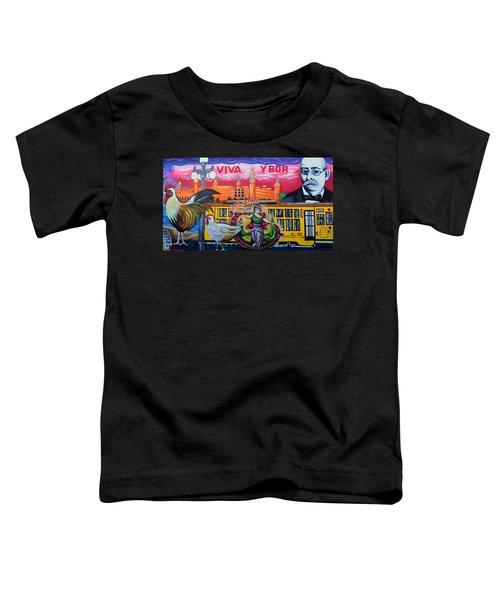 Cigar City Street Mural Toddler T-Shirt