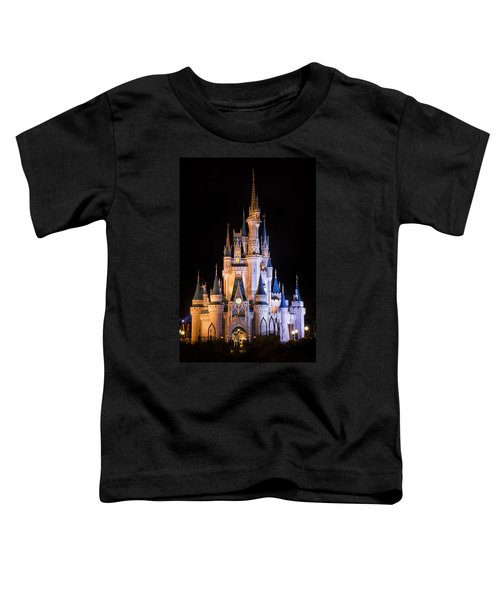 Cinderella's Castle In Magic Kingdom Toddler T-Shirt