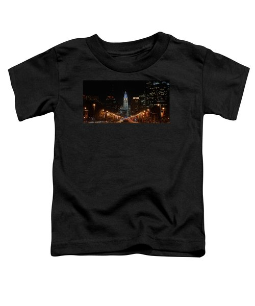 City Hall At Night Toddler T-Shirt