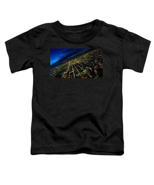 City Street Lights Above Toddler T-Shirt