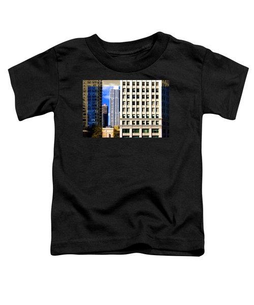 Cityscape Windows Toddler T-Shirt