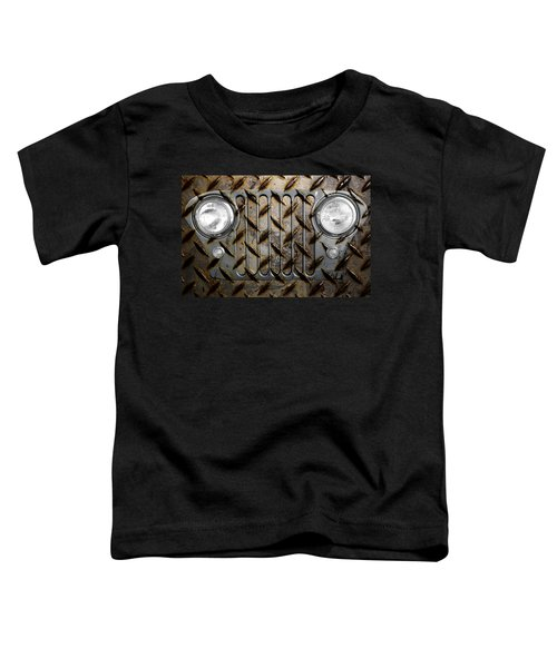 Civilian Jeep- Steel Gray Toddler T-Shirt