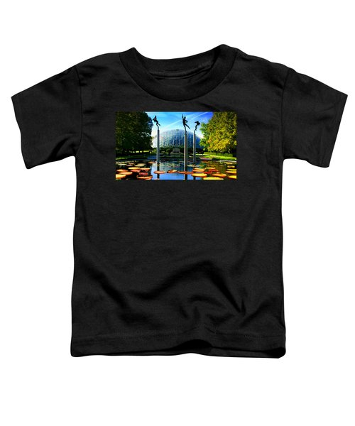 Climatron Geodesic Dome Landscape Toddler T-Shirt