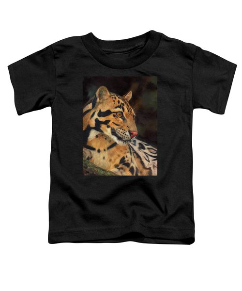 Clouded Leopard Toddler T-Shirt