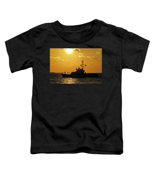 Coast Guard In Paradise - Key West Toddler T-Shirt