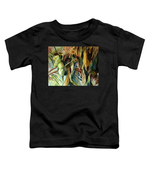 Coconuts And Palm Fronds 5-16-11 Julianne Felton Toddler T-Shirt