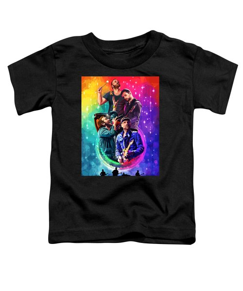 Coldplay Mylo Xyloto Toddler T-Shirt by FHT Designs