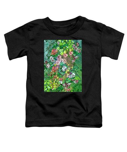 Colored Rose Garden Toddler T-Shirt