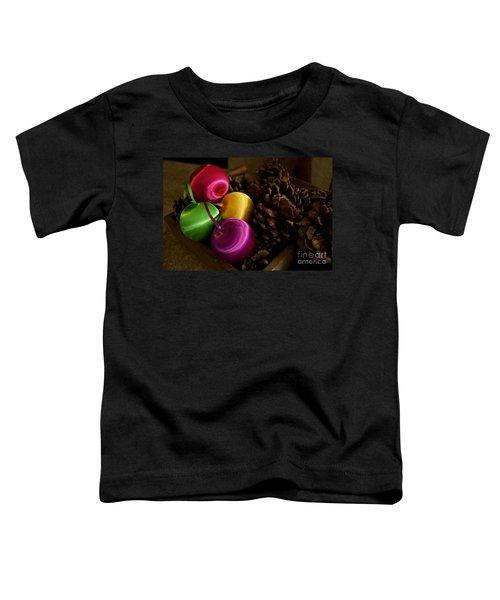 Colorful Christmas Balls Toddler T-Shirt