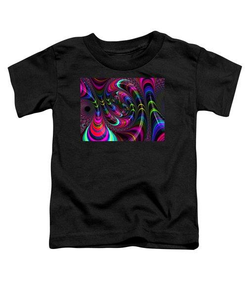 Colorful Fractal Art Toddler T-Shirt