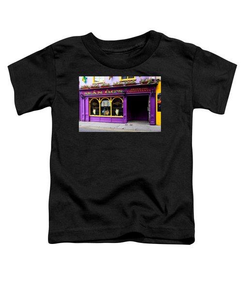 Colorful Irish Pub Toddler T-Shirt