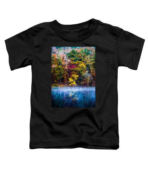 Colors In Early Morning Fog Toddler T-Shirt
